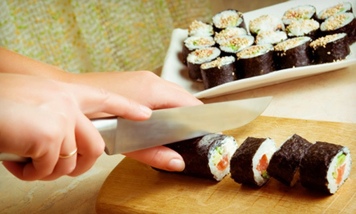 Tatu Restaurant - Downtown: $59 for a Sushi-Making Class for Two at Tatu Restaurant ($120 Value). Five Dates Available.