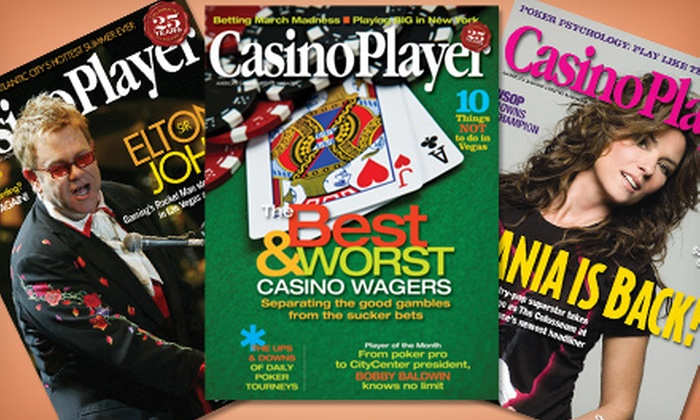 """Casino Player Magazine: One- or Two-Year Subscription to """"Casino Player"""" Magazine (Up to 71% Off)"""
