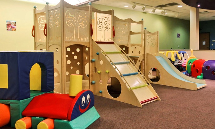 Cafe N Play - Naperville: Two Play-Area Admissions at Cafe N Play in Naperville (Up to 47% Off)