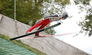 Norge Ski Club: 2 or 4 Tickets to Norge Autumn Ski Jump Tournament at Norge Ski Club on September 24 and 25 (Up to 50% Off)