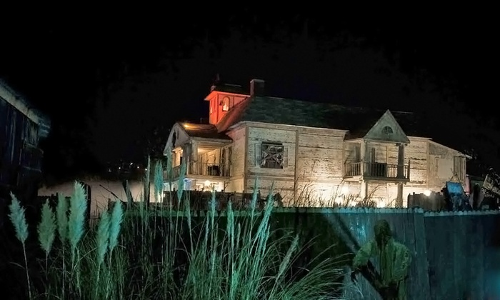 Thrillvania Haunted House Park - Terrell South: Admission for Two or Four to Thrillvania Haunted House Park (Up to 33% Off)