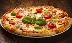 Capiche Pizza: Dine-In Pizza for Two or Four, or Italian Food for Takeout at Capiche Pizza (Up to 40% Off)