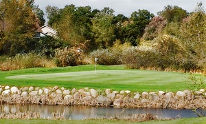 56% Off Round of Golf and Cart Rental at The Ponds Golf Course and Restaurant, plus 6.0% Cash Back from Ebates.