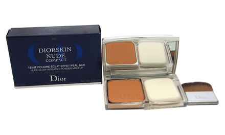 Christian Dior Diorskin Nude Powder Makeup Compact; 0.35 Oz.
