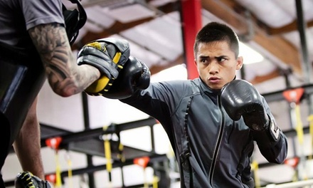 10 or 15 Fitness and Conditioning Classes at Undisputed Boxing Gym (Up to 77% Off)