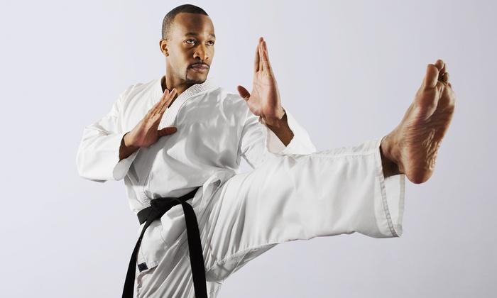 Winnipeg Kyokushinkan Devlin Dojo - Beaumont: KyokushinKarate and Kickboxing Classes (Up to73% Off). Three Options Available.