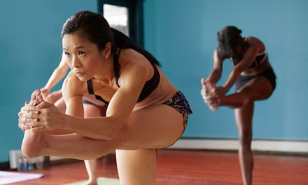 10 Classes or One Month of Unlimited Classes at Go Yoga and Fitness (Up to 59% Off)