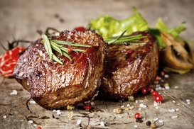 Aberdeen Steak House: Steak with Champagne for Two or Four at Aberdeen Steak House (Up to 60% Off)