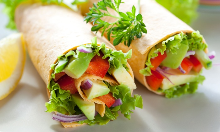 Great Wraps - River Mountain: $9 for Three Vouchers for Famous Wraps at Great Wraps ($17.97 Value)