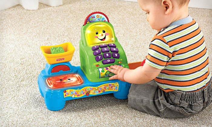 Fisher-Price Laugh & Learn Market: $25 for a Fisher-Price Laugh & Learn Magic Scan Market ($37.99 Total Value). Free Shipping and Free Returns.