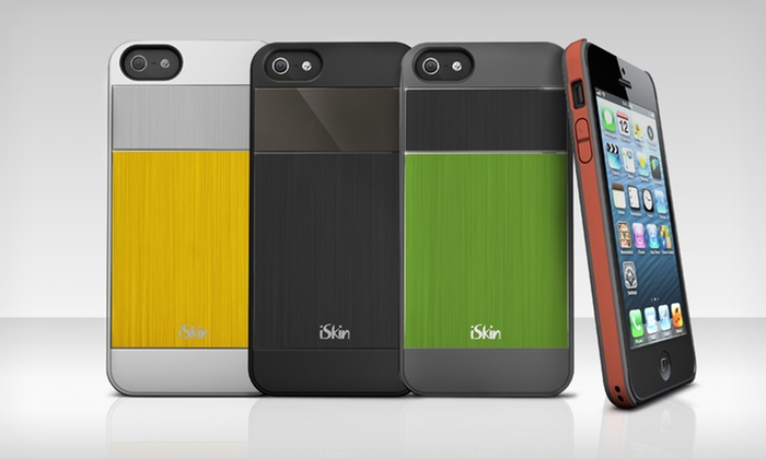 iSkin aura Case for iPhone 5: $7.99 for an iSkin aura Case for iPhone 5 ($39.99 List Price). Multiple Colors Available. Free Returns.