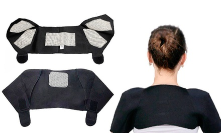 Tourmaline Self-Heating Shoulder Wrap