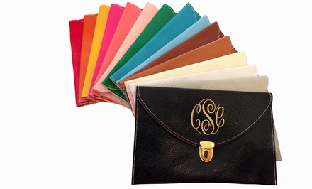 $24 for Custom Monogrammed Clutch Purse from Social Monograms ($48 Value)