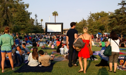 Tickets for Two or Four or One or Two Season Passes at Street Food Cinema (Up to 55% Off)
