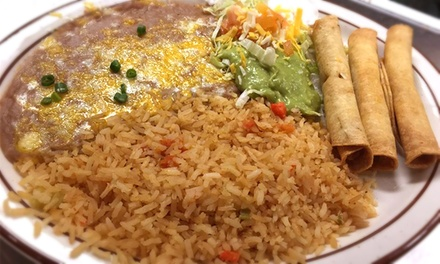 $12 for $20 Worth of Cuisine at Tio's Mexican Food