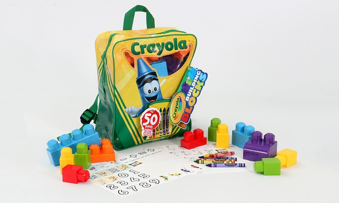 Crayola Backpack (50-Pieces) | Groupon Goods