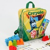 Crayola Kids at Work Learn N Play Backpack (50-Pieces)