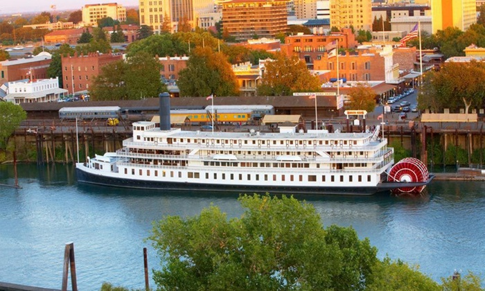 Delta King Hotel - Central Sacramento: One-Night Stay with Private Tour and a Bottle of Wine at Delta King Hotel in Sacramento, CA