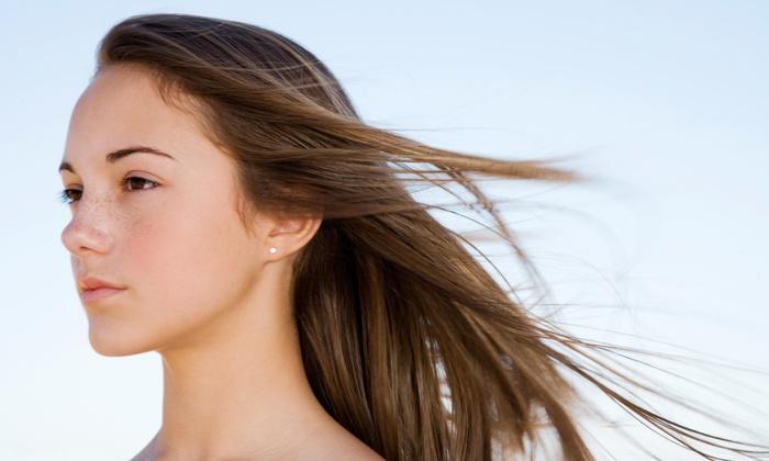 Savaya Spa Salon - Farmington: Women's Haircut with Conditioning Treatment from Savaya Spa Salon (60% Off)