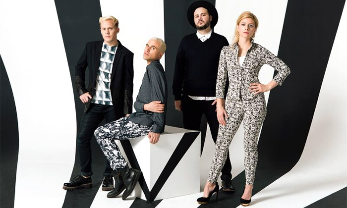 Neon Trees - College Street Music Hall: Neon Trees, Fictionist, and Ian Biggs at College Street Music Hall on July 25 at 8:30 p.m. (Up to 56% Off)