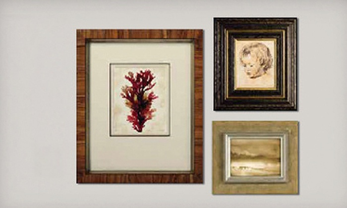 Framing & Art Centre - Multiple Locations: $35 for $100 Worth of Custom Framing at Framing & Art Centre