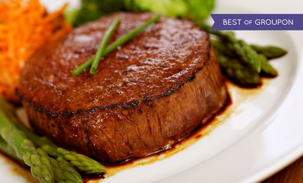 Steak-House Cuisine for Two or Four at Macleay Country Inn (50% Off)