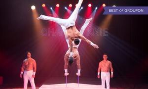 """Zirkus Charles Knie: Zirkus-Show """"Europas Top-Zirkus"""" am Termin und Ort nach Wahl im Zirkus Charles Knie (bis zu 50% sparen)"""