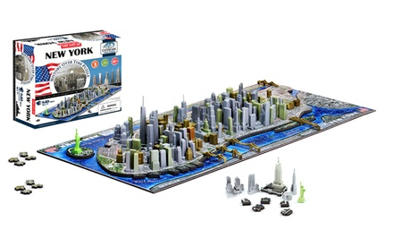 4D Cityscape Puzzle. Multiple Maps Available. Free Returns.