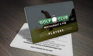 The Golf Club of Granger: One Golf Player's Card from The Golf Club of Granger