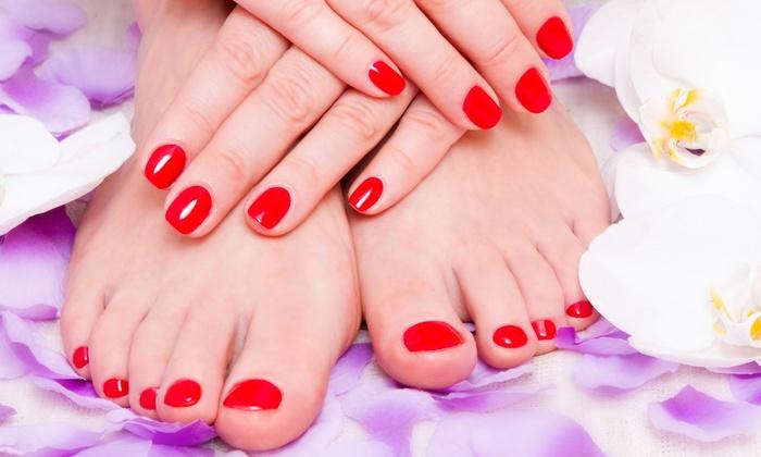 Salon Niki - Norwood: Color Gel-Polish Manicure or Pedicure or a Signature Mani-Pedi at Salon Niki (Up to 55% Off)