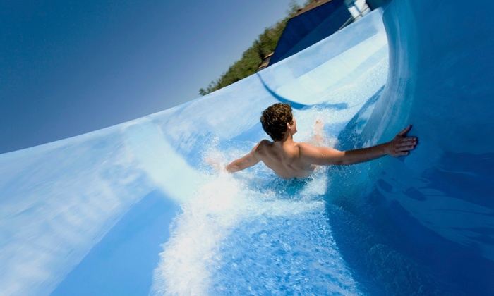 Mountain Paradise Waterpark - North Cove: Mountain Paradise Waterpark for for Two or Four (50% Off)