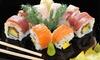 Sushi box da 22 o 52 pezzi da asporto