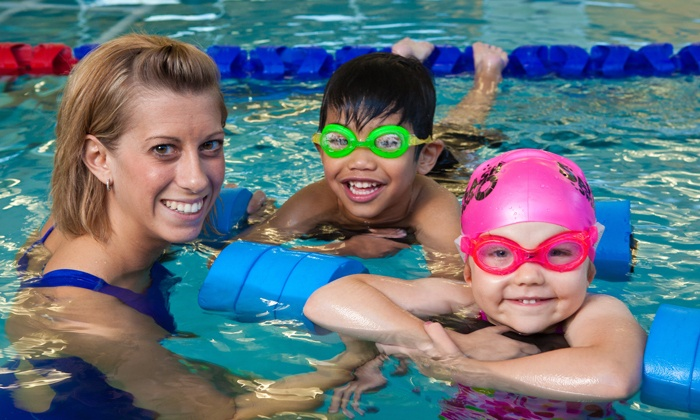 SafeSplash Swim School Houston - Multiple Locations: One-Month Group Swim-Lesson Package for One or Two Students at SafeSplash Swim School Houston (Up to 60% Off)