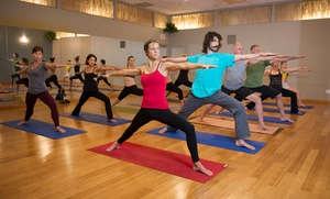 Sol Yoga: 10 Yoga Classes or One Month of Unlimited Yoga Classes at Sol Yoga (77% Off)
