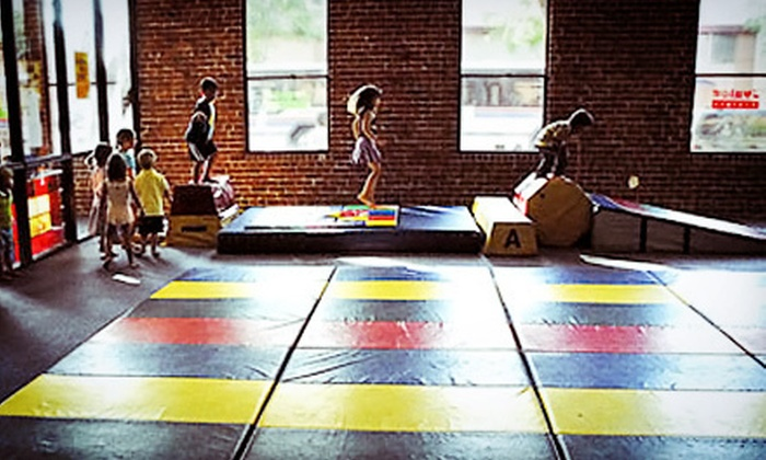 Junior Gym - Downtown San Mateo: 10 or 20 Open-Play Sessions and Registration, or 6 Kids' Classes at Junior Gym (Up to 52% Off)