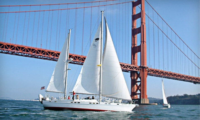 Bay Breeze Charters - Sausalito: $40 for a Two-Hour Sunset, Full-Moon, or Afternoon Cruise for Two from Bay Breeze Charters in Sausalito ($80 Value)