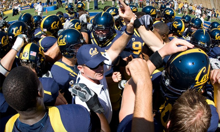 California Golden Bears Football - South Beach: $65 for Two Tickets to a California Golden Bears Football Game at AT&T Park on November 5 or 12 (Up to $130 Value)