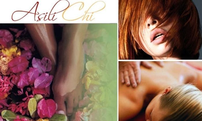 Asili Chi Salon & Spa - West Loop: $49 for $115 Worth of Pampering at Asili Chi Salon & Spa