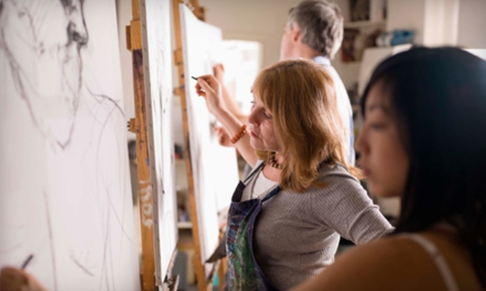 Tulsa Art Center - Tulsa: $80 for a Four-Week Art Sampler Course at Tulsa Art Center ($175 Value)