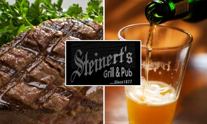 Steinert's Grill and Pub - Louisville: $10 for $20 Worth of Food and Drink at Steinert's Grill & Pub