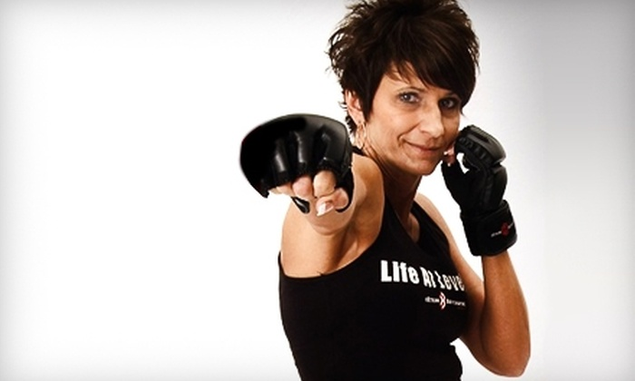 $35 for a Five-Class Punch Card with Boxing Gloves and Wraps at Farrell's eXtreme Bodyshaping ($104.90 Value)