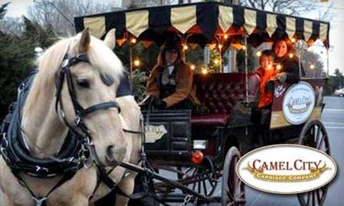 Camel City Carriage - Westend: Carriage Ride with Camel City Carriage. Choose Between Two Options.