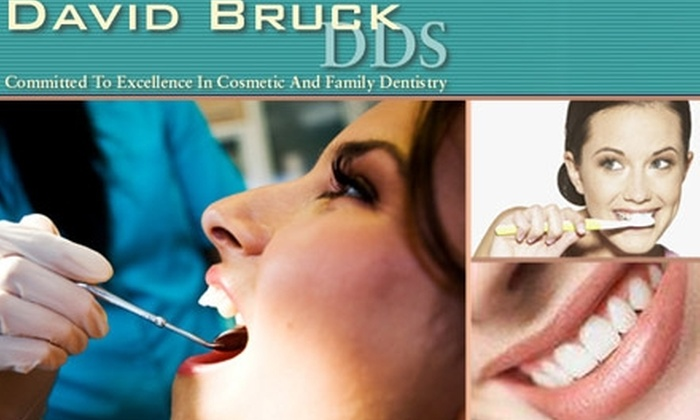 David Bruck, DDS - Tampa Bay Area: $55 for Exam, X-Rays, and Basic Dental Cleaning from David Bruck, DDS ($221 Value)