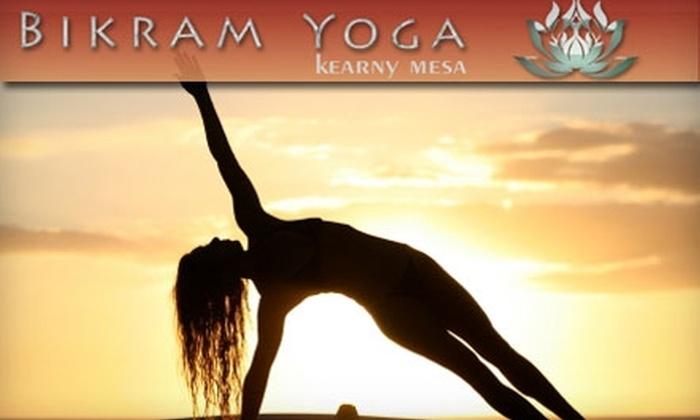 Bikram Yoga - Kearny Mesa: $39 for 10 Classes at Bikram Yoga in Kearny Mesa ($120 Value)