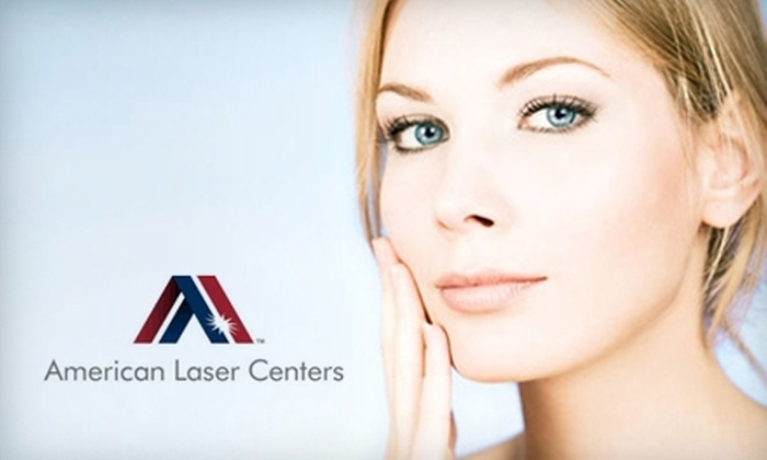 American Laser Centers - Festival Hills: $99 for Three Laser Hair-Removal Treatments at American Laser Centers (Up to $722 Value). Choice of Three Treatment Areas.
