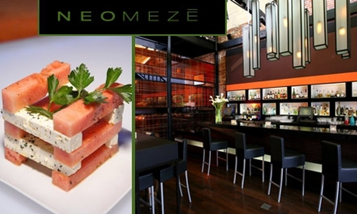 Neomeze - Old Pasadena: $8 for $20 Worth of Haute Pub Fare and Classy Drinks at Neomeze