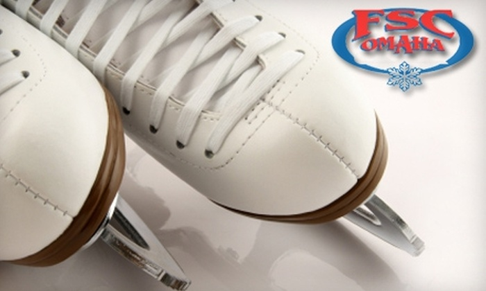 Figure Skating Club of Omaha - Q Merchants: $33 for Four Classes and Joining Fee at Figure Skating Club of Omaha ($66 Value)