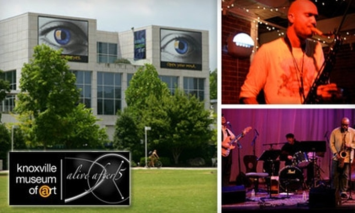 Knoxville Museum of Art - Downtown Knoxville: $8 for Two Tickets to One Alive After Five Concert at the Knoxville Museum of Art (Up to $20 Value)