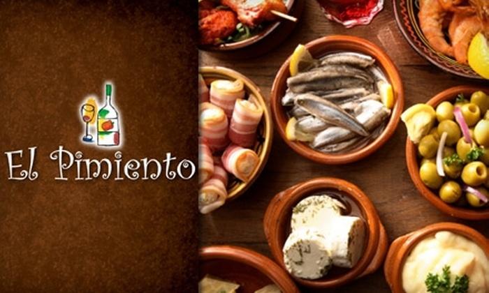 El Pimiento - Miami Lakes: $20 for $40 Worth of Spanish Tapas and Drinks at El Pimiento in Miami Lakes