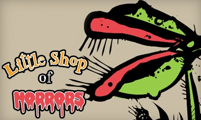 """Center Stage Theatre - Downtown Fontana: $30 for Two General-Admission Tickets to """"Little Shop of Horrors"""" at Center Stage Theatre ($60 Value). Choose From Three Performances."""